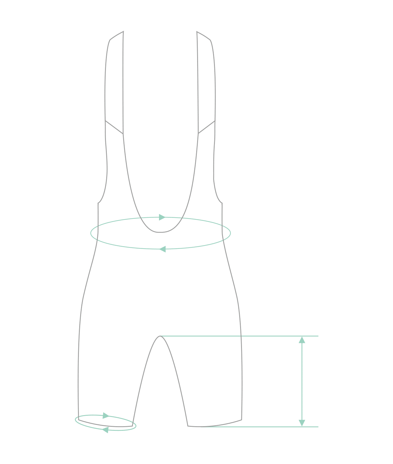 Stockholm — Women's bib shorts — Stealth