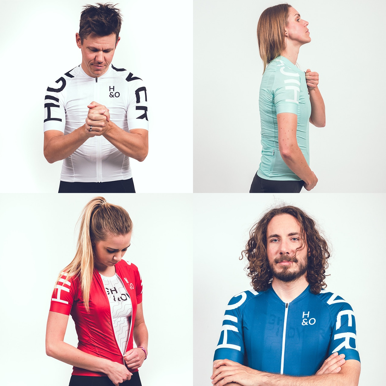 HIGH&OVER cycling jerseys