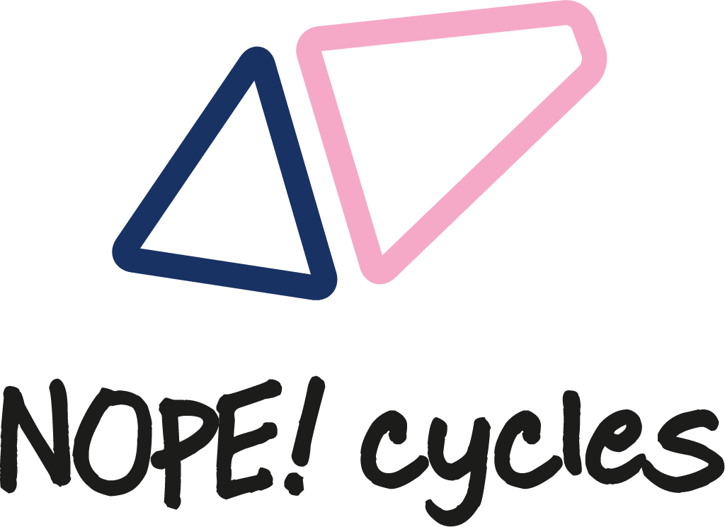 NOPE cycles logo