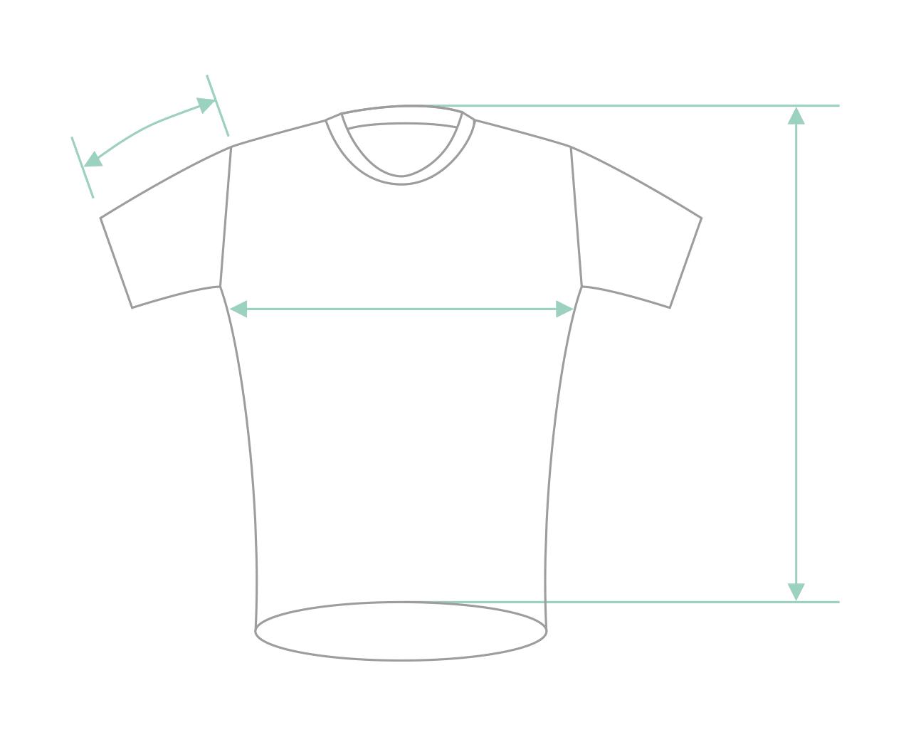 Poolside —Unisex organic cotton t-shirt —White