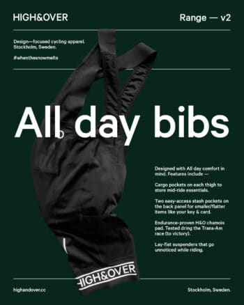 All day bib shorts with pockets