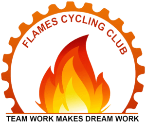 Flames Cycling Club Logo